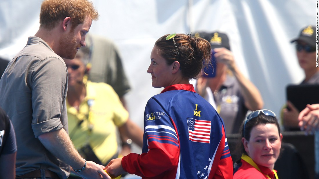 Marks touched the hearts of millions by returning her gold from the 2016 Invictus Games to Prince Harry for him to give to the staff at Papworth Hospital who saved her life two years earlier.