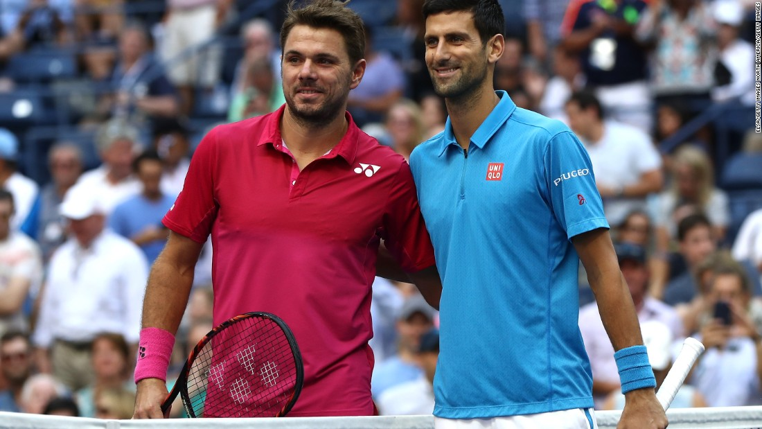 Novak Djokovic, right, led Stan Wawrinka 19-4 in their duels prior to the US Open final. But Wawrinka had won two of the last five at majors.