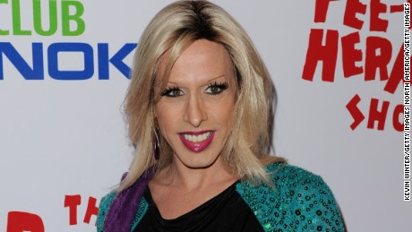 """LOS ANGELES, CA - JANUARY 20:  Actress Alexis Arquette arrives at the opening night of """"The Pee-wee Herman Show"""" in Club Nokia at L.A. Live on January 20, 2010 in Los Angeles, California.  (Photo by Kevin Winter/Getty Images)"""