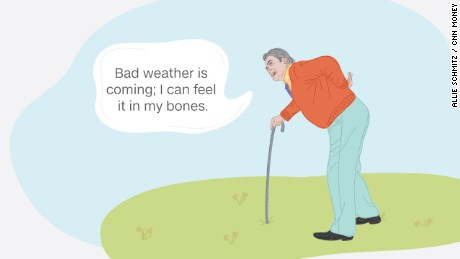Preliminary findings from a new study suggest a link between weather conditions and chronic pain.