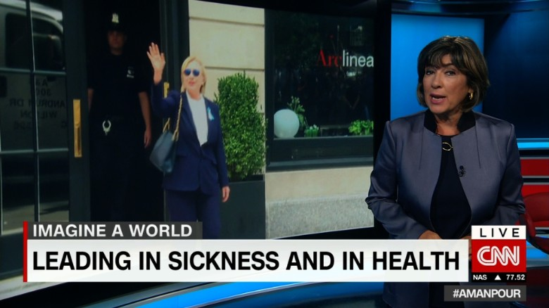 Amanpour: Can't a girl have a sick day?