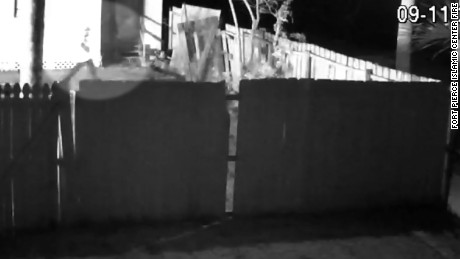 Florida mosque fire surveillance video