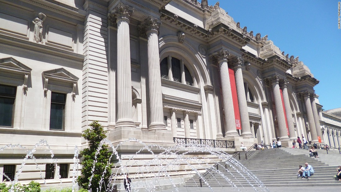 The Met -- the United States' largest art museum -- has been crowned the world's best museum, according to TripAdvisor users. Located on Manhattan's Museum Mile, the Met is home to European masters as well as interiors from first-century Rome.
