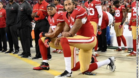 Colin Kaepernick creates friction in hometown