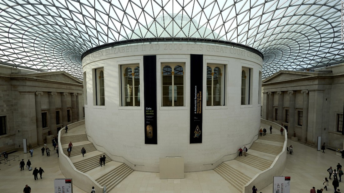"Established in 1753, the British Museum tells the story of human culture from its beginnings to the present day. The museum has 10 curatorial and research departments -- from ""Ancient Egypt and Sudan"" to ""Britain, Europe and Prehistory."" It's also free entry."