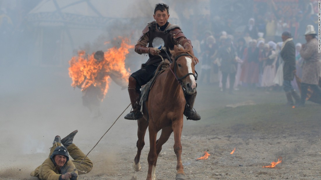 The Central Asian nation welcomed 2,000 athletes from 40 nations across the world to compete in a range of traditional nomad sports.