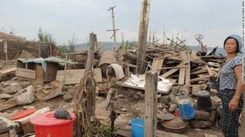 North Korea appeals for flood aid
