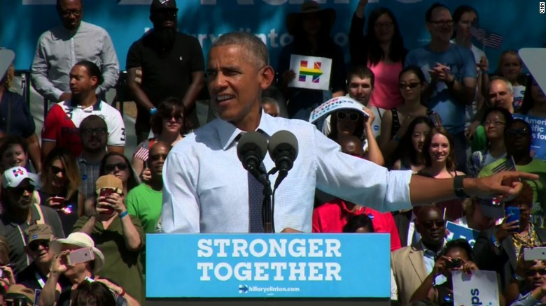 Obama: I am really into electing Hillary Clinton