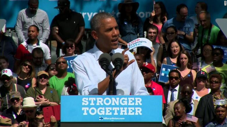 Obama: Anyone can fire off a tweet, criticize