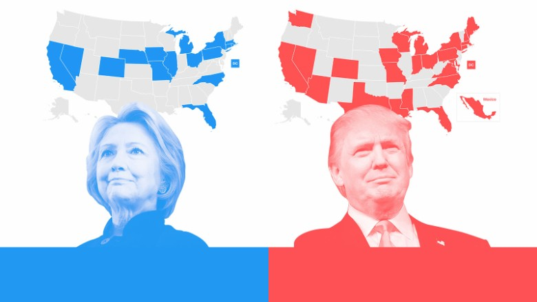 How Clinton and Trump supporters see the world differently