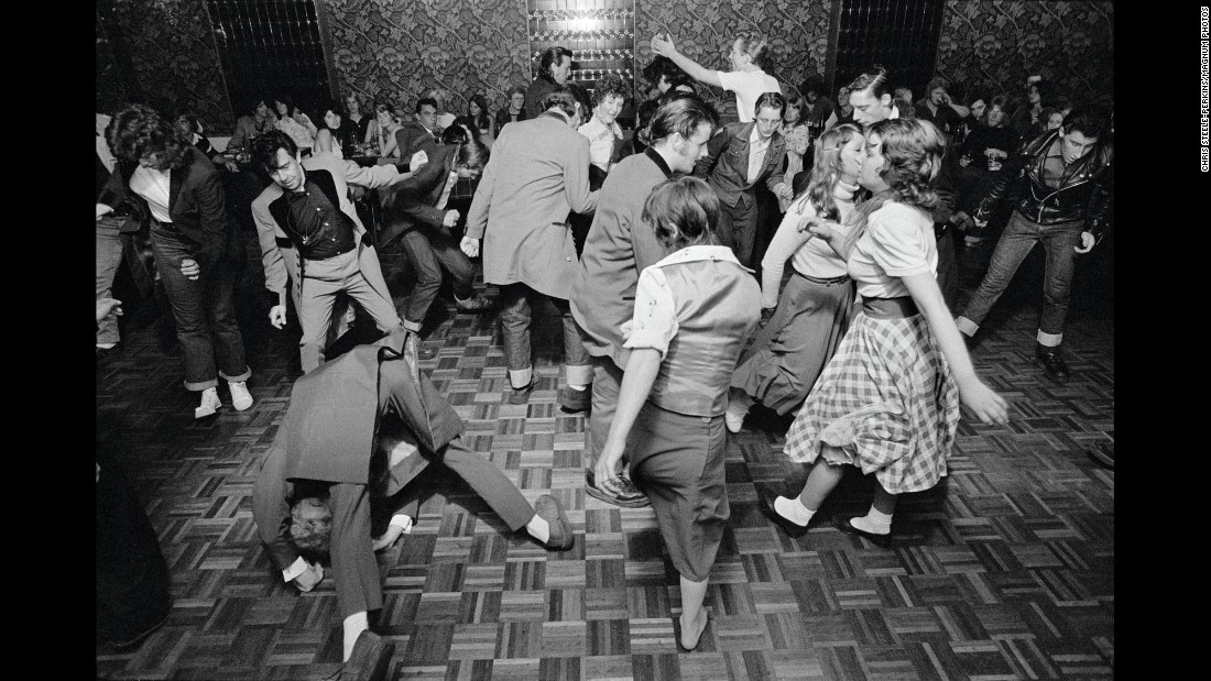People are out to have a good time in Bradford, England. Steele-Perkins became an embed, an accessory to the movement -- while keeping a healthy working distance.