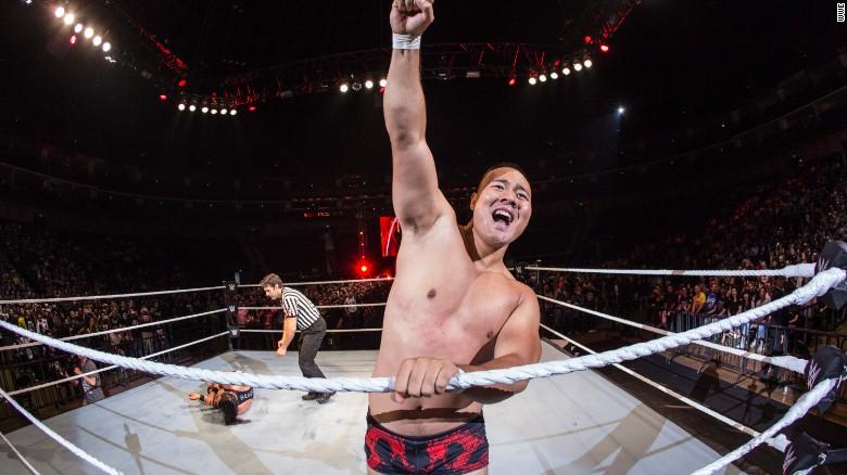 Meet China's first WWE wrestler