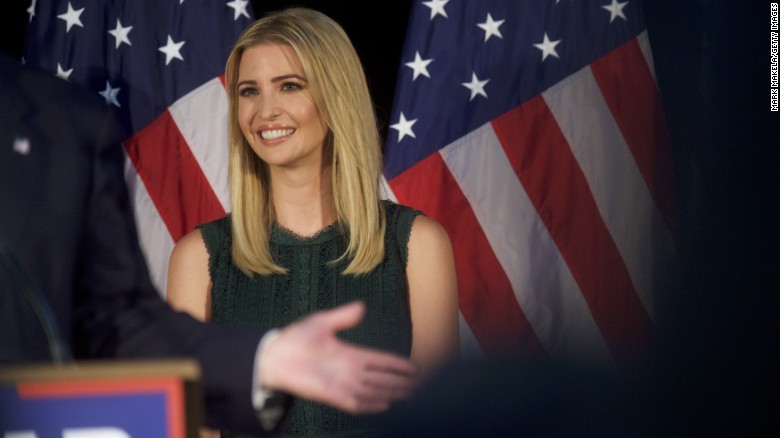 Ivanka Trump joins dad to pitch child care policy
