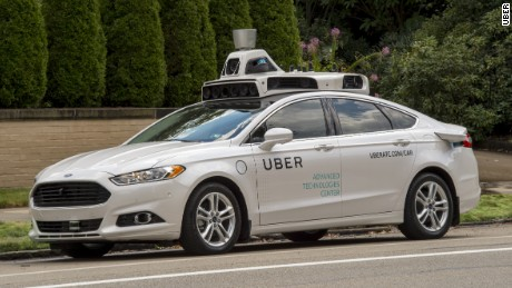 cnnmoney uber self driving