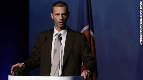 Ceferin will become the 7th president of UEFA