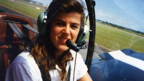 Shepherd earned her pilot's license within a year of her first flight.