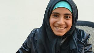 Shahed Qassem, student.