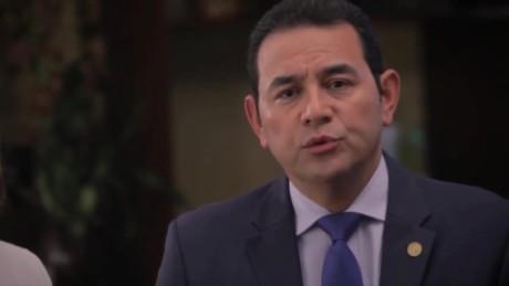 cnnee pkg patzy vasquez guatemala corrupcion hermano hijo jimmy morales_00011819