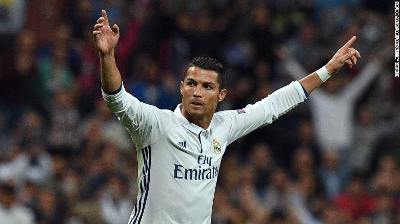 Cristiano Ronaldo celebrated his late equalizer against his former club in muted fashion.