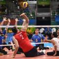 Morteza Mehrzadselakjani volley net Rio