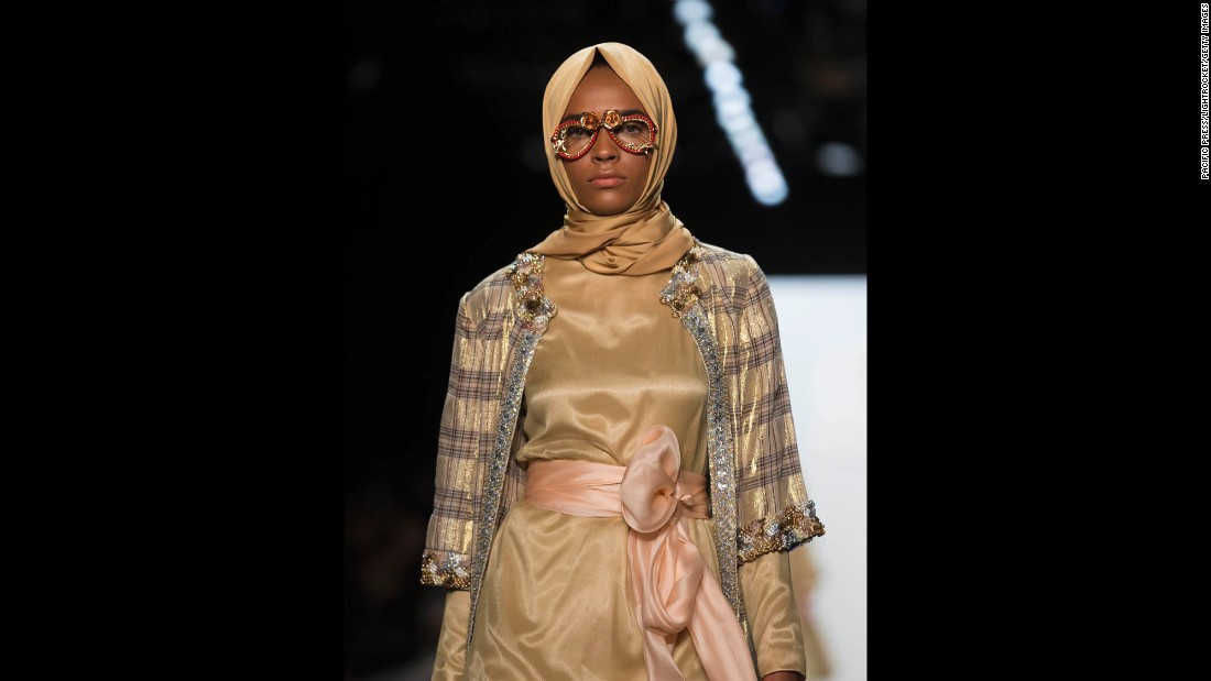 Muslim designer Anniesa Hasibuan has made history at New York Fashion Week, showcasing the first-ever collection to feature hijabs in every outfit.