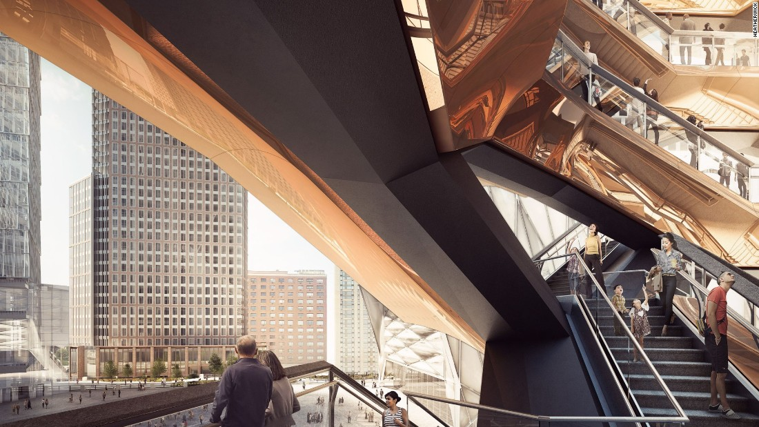 It is part of the wider $25 billion Hudson Yards project.
