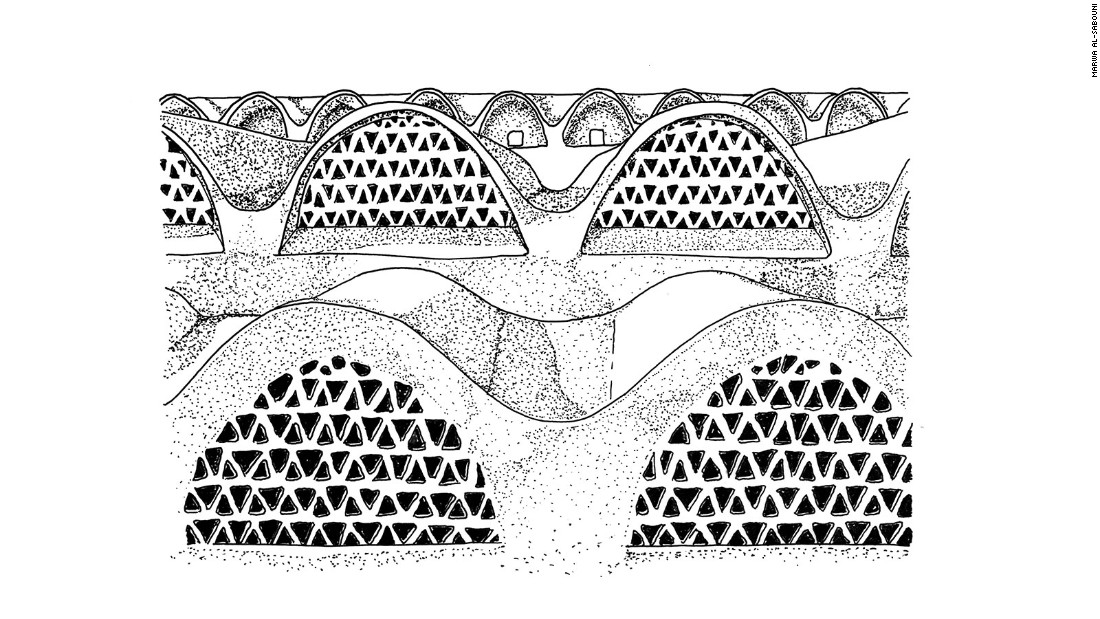 The village of New Baris, designed by Hassan Fathy