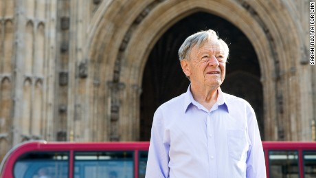 """""""The new generation of refugees could make a tremendous contribution to Britain,"""" said Alf Dubs."""