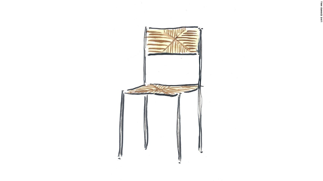 """""""I always enjoy Rose Uniacke's work. She is launching three new chair designs during LDF, and they utilize beautiful materials -- steel, soft dyed leather, raw oak, caning -- to stunning effect."""" <br /><em><br />""""Simply Chairs"""" runs from September 17-26 at the Rose Uniacke shop (76-84, Pimlico Road, London SW1W 8PL) </em><br />"""