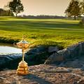 Hazeltine golf trophy
