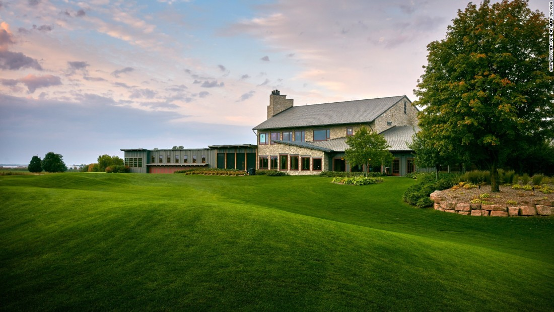 Picturesque Hazeltine has also hosted the US Women's Open and the men's US Amateur.