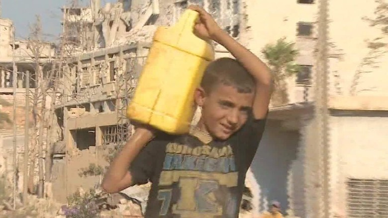 Aleppo residents get a break from the ceasefire