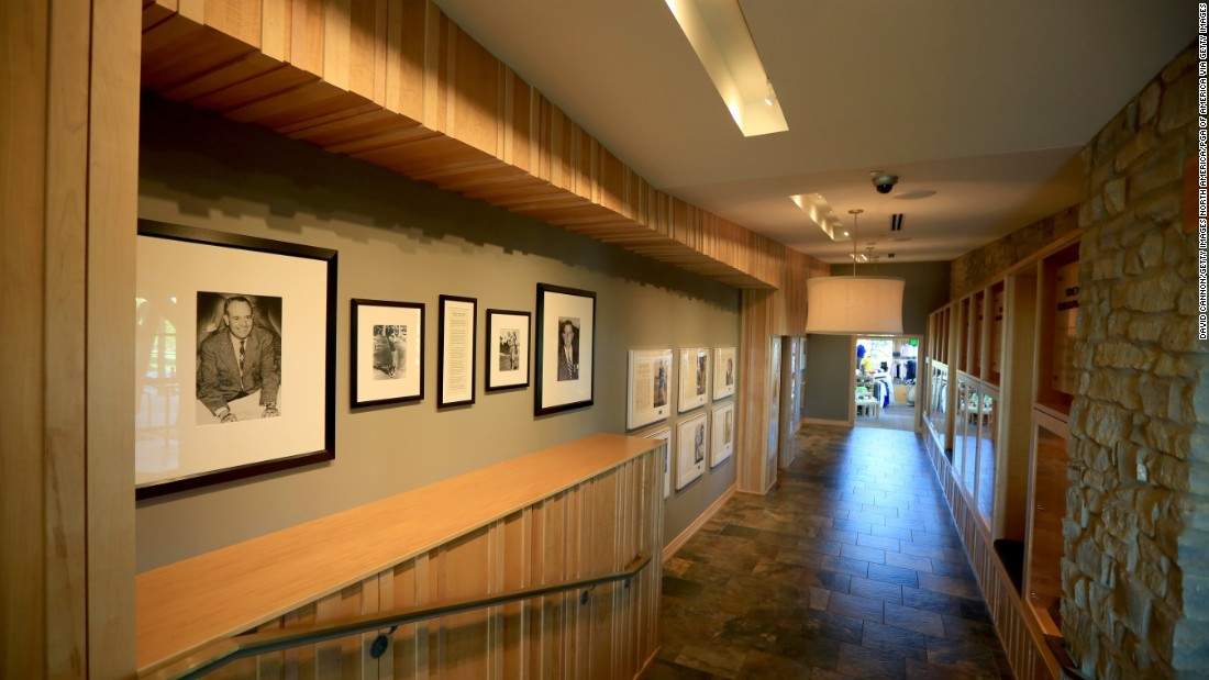 """Its """"Hall of Champions"""" marks the club's greatest achievements."""