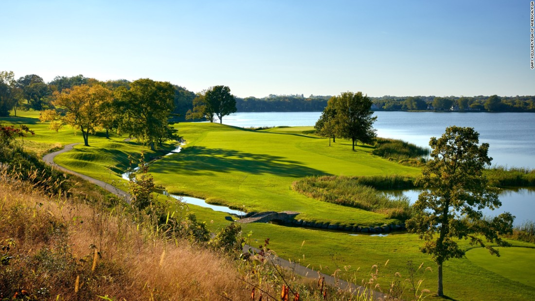 It first hosted the PGA Championship in 2002, two years after Jones Sr. passed away at the age of 93.