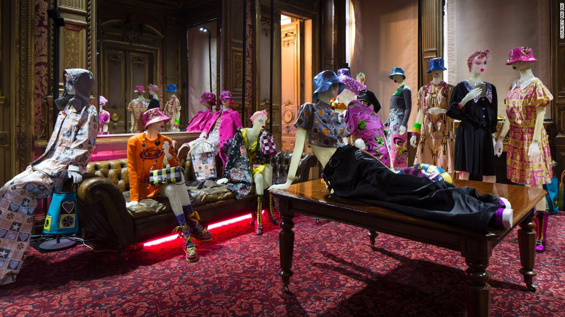 This June 2016, he customized a series of mannequins for Miu Miu's  Resort 2017 presentation.