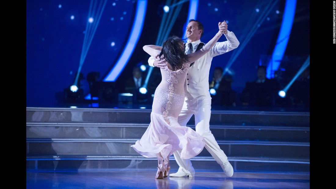 """US Olympic swimmer Ryan Lochte dances with Cheryl Burke during an episode of """"Dancing with the Stars"""" in Hollywood on Monday, September 12. Two <a href=""""http://www.cnn.com/2016/09/12/entertainment/ryan-lochte-dancing-with-the-stars/"""" target=""""_blank"""">protesters rushed the stage</a> after Lochte's performance. Lochte has been widely criticized after <a href=""""http://www.cnn.com/2016/08/19/sport/ryan-lochte-instagram-apology/index.html"""" target=""""_blank"""">admitting he """"over-exaggerated"""" claims</a> that he and fellow swimmers were robbed at gunpoint during the Rio Olympics."""