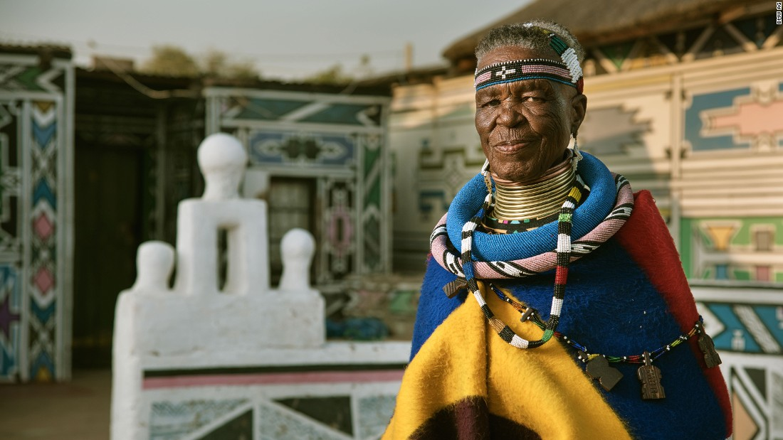 Meet 81 year old Esther Mahlangu, a South African Ndebele artist who has collaborated with German car giants BMW, not once, but twice.