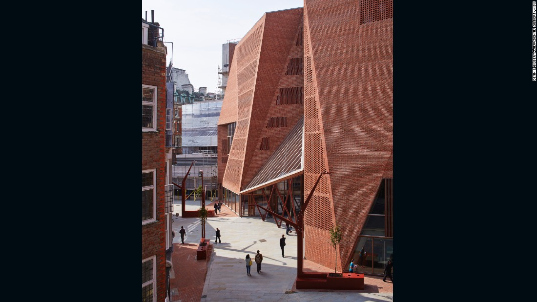 Part of the London School of Economics and Political Science, the Saw Swee Hock Student Centre was nominated for the Stirling Prize in 2014.