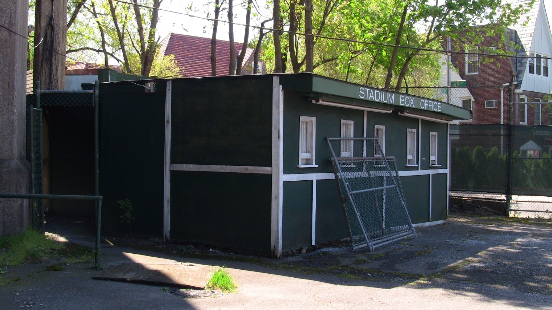 As a result, Forest Hills has suffered. This ticket office is not nearly as busy as it used to be during the ground's US Open years.