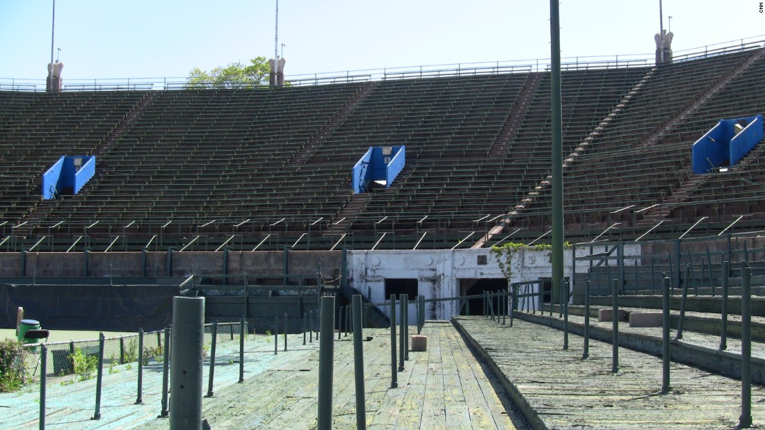 However, the main arena fell into neglect.