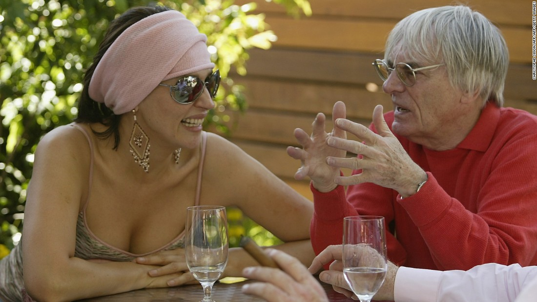 Ecclestone was married to Slavica for 23 years.