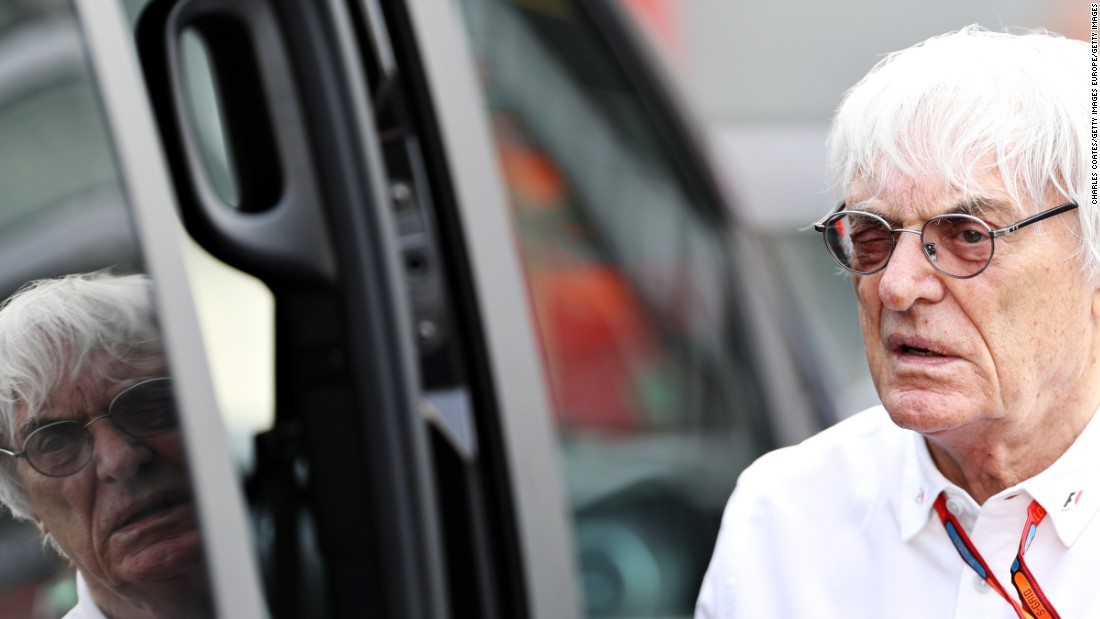 Formula 1's new owner Liberty Media has announced Bernie Ecclestone will stay on as CEO for three years.