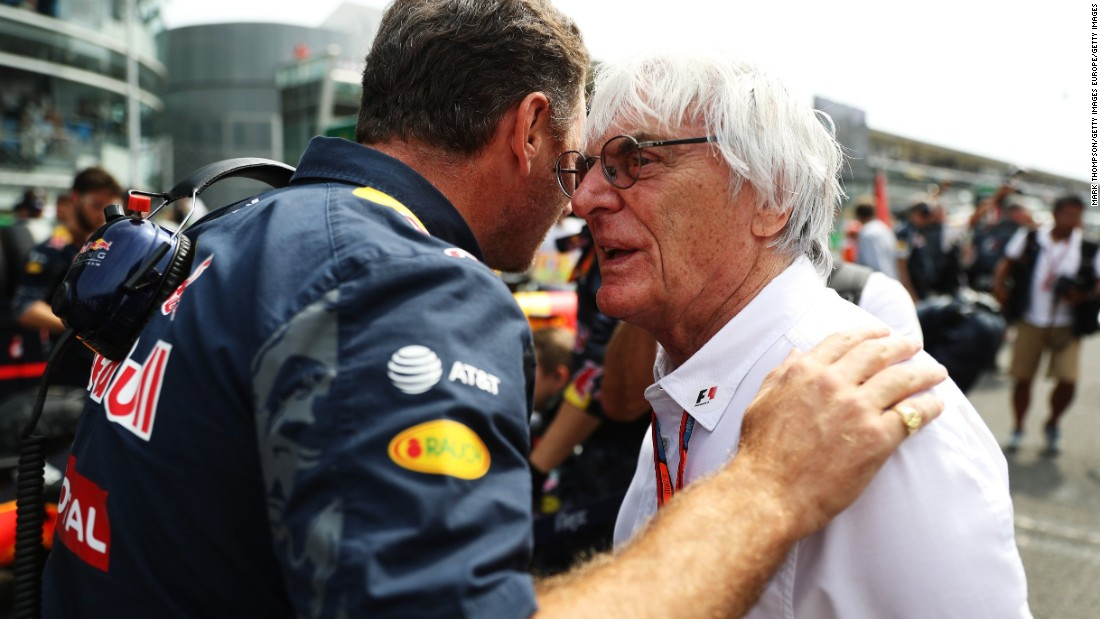 Red Bull team principal Christian Horner has been among those tipped to take over from the 85-year-old, who looks unlikely to give up power for some time.