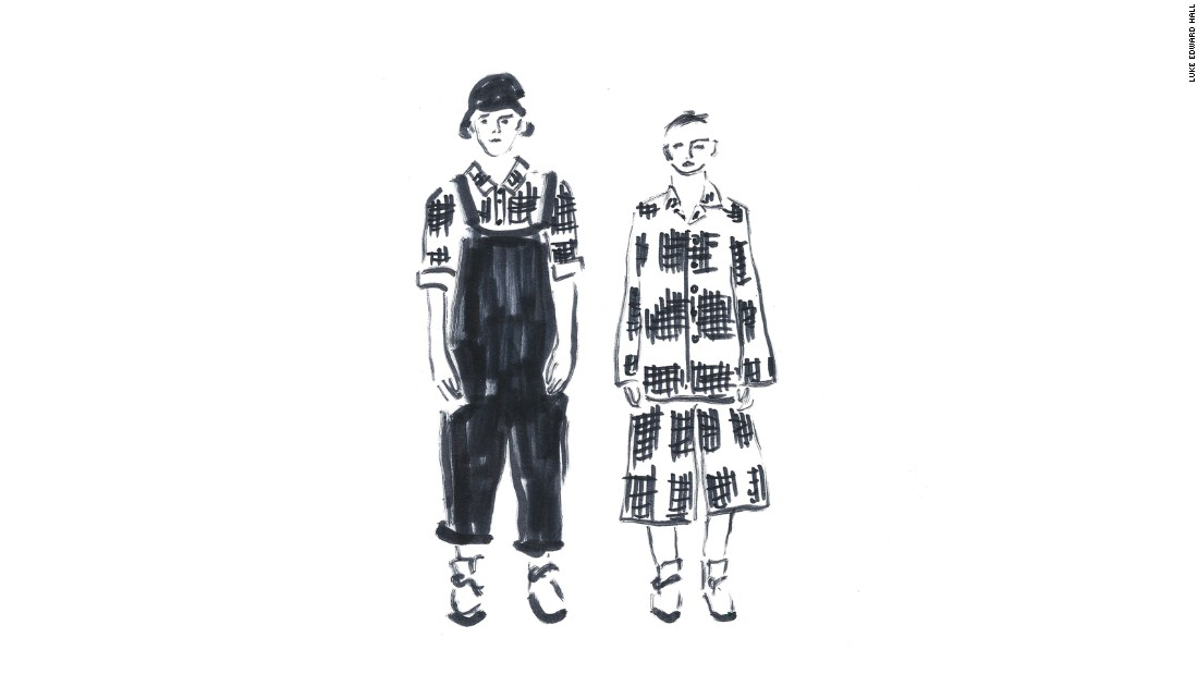 """""""Fusing a design sensibility with fashion, this collection of unisex clothing by Toogood (designed by sisters Faye and Erica Toogood) reinterprets a pastoral aesthetic for the city. Farmers' checks are redrawn in the scarlet ink of a desk-bound accountant; patchwork quilting is sampled and remixed. I'm particularly a fan of the dungarees!""""<br /><em><br />Toogood Collection 006 will be on display September 19-23 at Unit 12 (49-59 Old street, London, EC1V 9HX) </em>"""