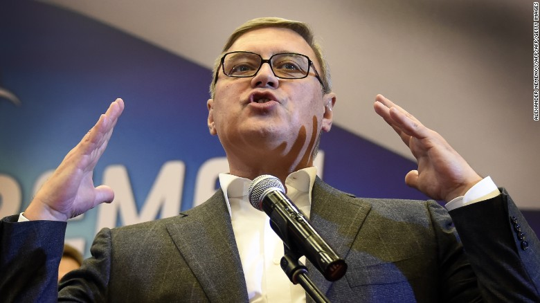Russian opposition figure Mikhail Kasyanov has been the target of repeated threats and harassment.