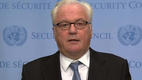 Russian UN ambassador Vitaly Churkin, who complained to the UN about attacks on Donald Trump by a top UN official.