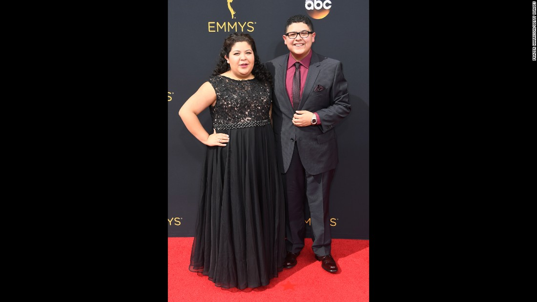 Raini Rodriguez and brother Rico Rodriguez