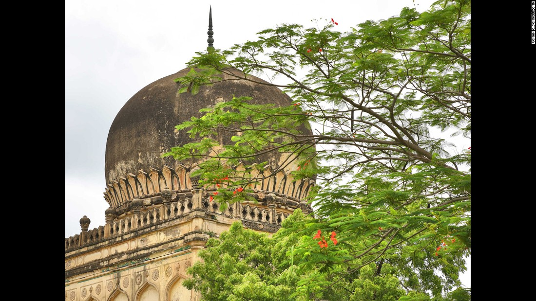 Fatima Sultana's tomb is among the 75 structures being restored.