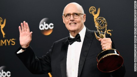LOS ANGELES, CA - SEPTEMBER 18:  Actor Jeffrey Tambor, winner of Best Actor in a Comedy Series for 'Transparent', poses in the press room during the 68th Annual Primetime Emmy Awards at Microsoft Theater on September 18, 2016 in Los Angeles, California.  (Photo by Frazer Harrison/Getty Images)
