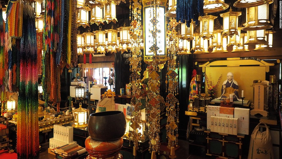 Jison-in is a gateway to the sacred Mount Koya, or Koyasan.